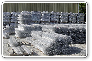 Aluminized Steel Chain Link Wires
