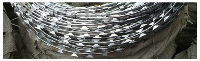 Razor Wire Coils for Fence Toppings