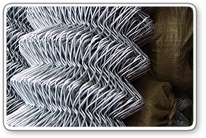Chain Link Fabric with Hot Dipped Galvanized Wire