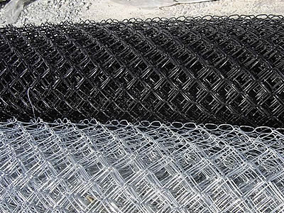 Black Wire Chain Link Fence