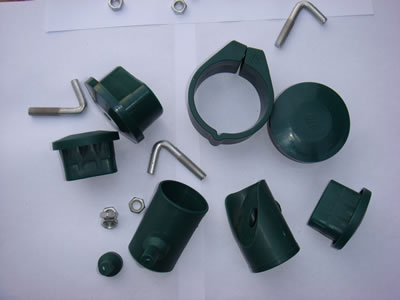 Chain link fence fence parts