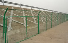 PVC coating Wire Mesh Fence