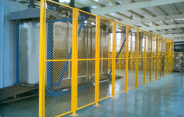 Manufacturing warehouse security
