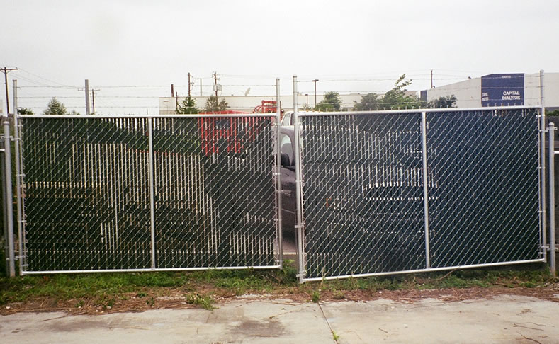 Installation Steps And Tips Of Chain Link Fence Gates Por