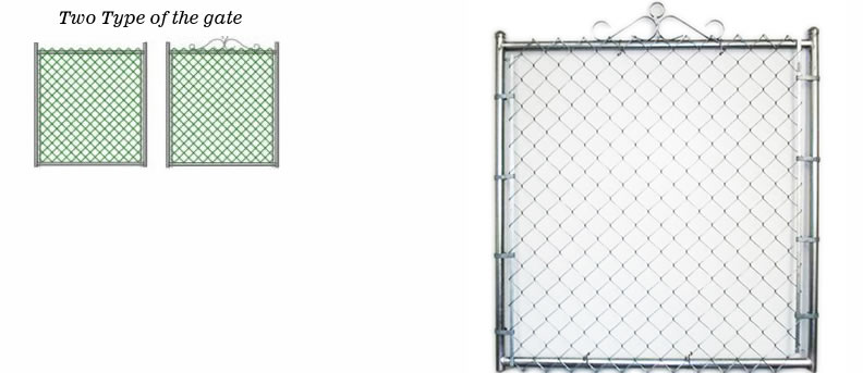Chain link fence netting security and
