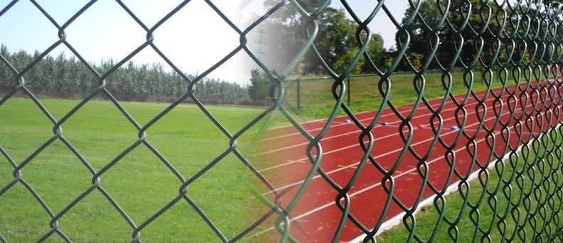 Chain Link Fence Chain Link Netting Security Fence And